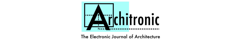 Architronic journal title logo