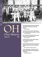 Thumbnail of Ohio History 2014 issue cover