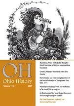 Thumbnail of Ohio History 2009 issue cover