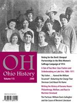 Thumbnail of Ohio History 2008 issue cover